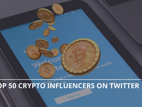 The Top 50 Crypto Influencers On Twitter By Crowdsense (End Of Q3 2021)