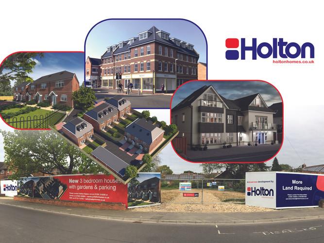 Holton Homes - Facelift Design