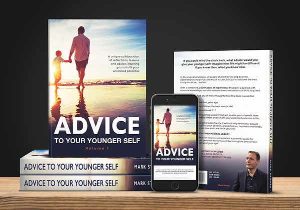 Advice To Your Younger Self Book 3D VISU