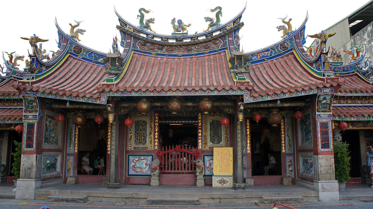 Wanhe Temple in Taichung city,Taiwan,Chin