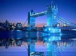 The Tower Bridge, London, England