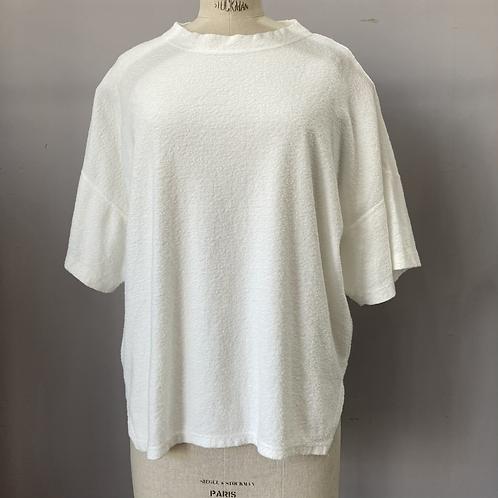 ダインシングパイル ワイドスリットTシャツ/TS210CT084