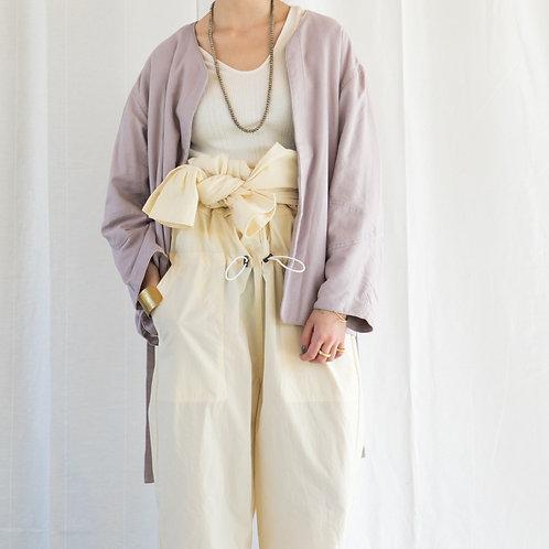 KiiRA / linen rayon liner jacket