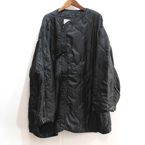 H(アッシュ)Remake Quilting Button Coat