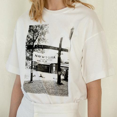 KiiRA / ORGANIC COTTON PHOTO TEE オーガニックコットンフォトTシャツ