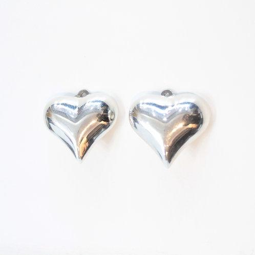 Heart earrings from Mexico