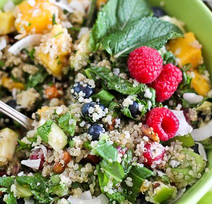 Eating Greens for Breakfast