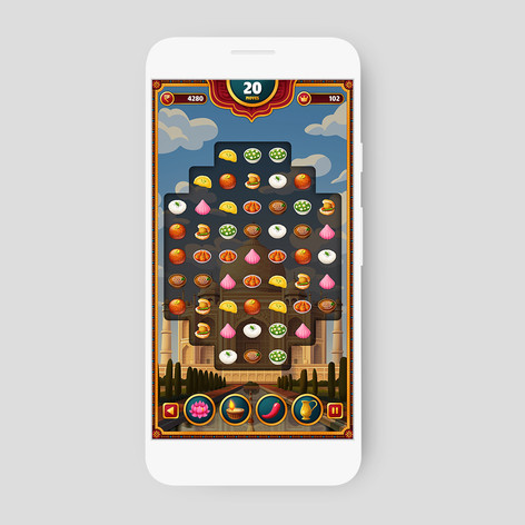 Gameloft pitch video - Optional game UI