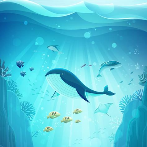 Artworks for ocean environment and resea