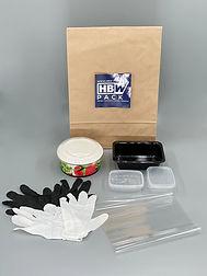 Musterpaket Lebensmittelverpackung Schalen Trays