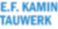E.F Kamin Tauwerk Logo.png