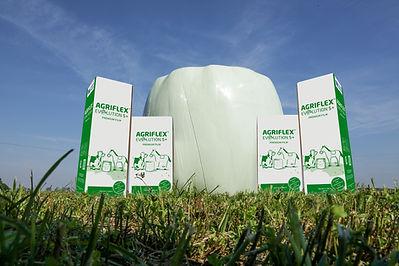 Agriflex Evolution Agrarstretchfolie Siloballen