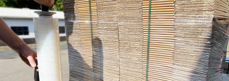Handstretchfolien Automatenstretchfolien Ladungssicherung Folien
