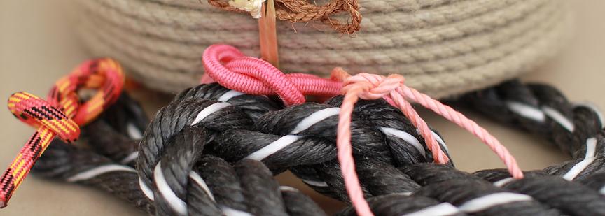 Tauwerk Kordeln Stricke und Seile