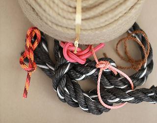 Stricke Seile Kordeln Seefahrt