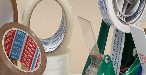 Packband Rollen Kleber sicher Versenden