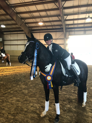 Anna Miriah C++/ - Arabian mare at US Dressage Finals