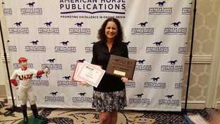 Arabian Horse Life Magazine Earns Awards at 2018 AHP Equine Media Awards Banquet