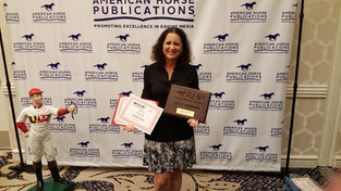 Arabian Horse Life Magazine Earns Awards at 2018 AHP Equine Media Awards Banquet