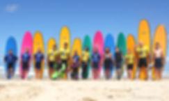 école de surf La Garluche Mimizan Quiksilver
