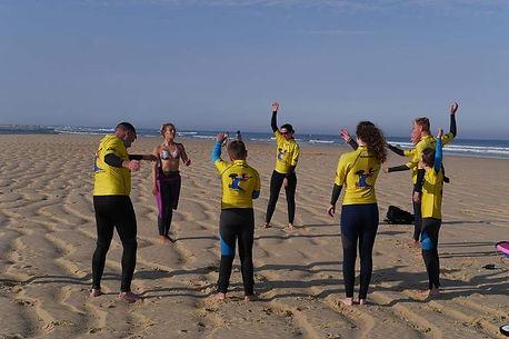surf à Mimizan école de surf la garluche