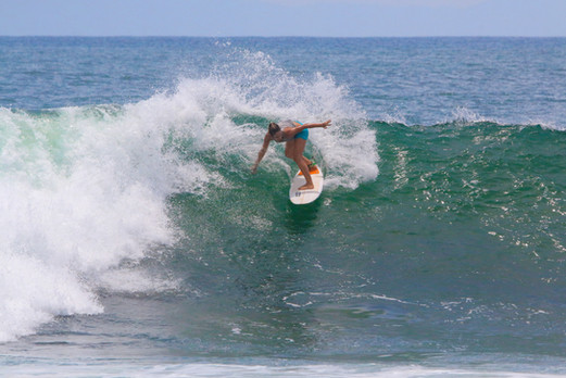 Surf Trip 2020 Johanne à Medewi (Bali)
