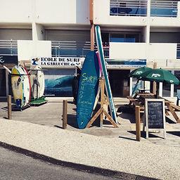 école de surf La Garluche mimizan