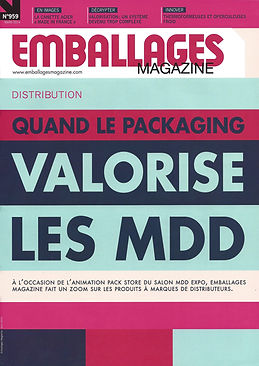 couverture emballage magazine mars 2014.
