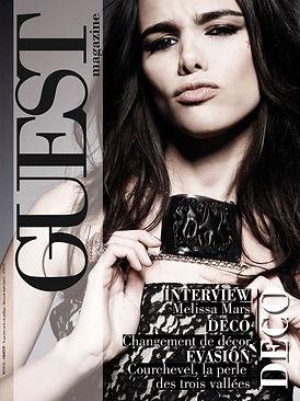 Couverture GUEST Magazine Novembre 2009.