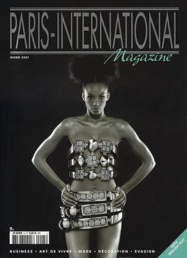 couverture Paris Internationel magazine
