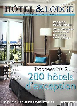 couverture hotel et lodge decembre 2012.