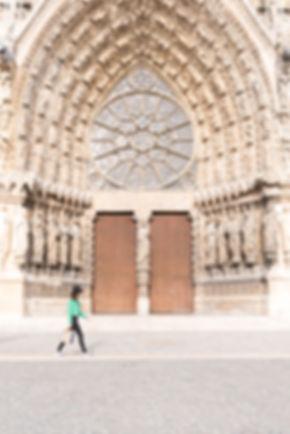 © Anne Lemaître photographe / Lou Creative Food / Reims / Architecture / Cathédrale de Reims