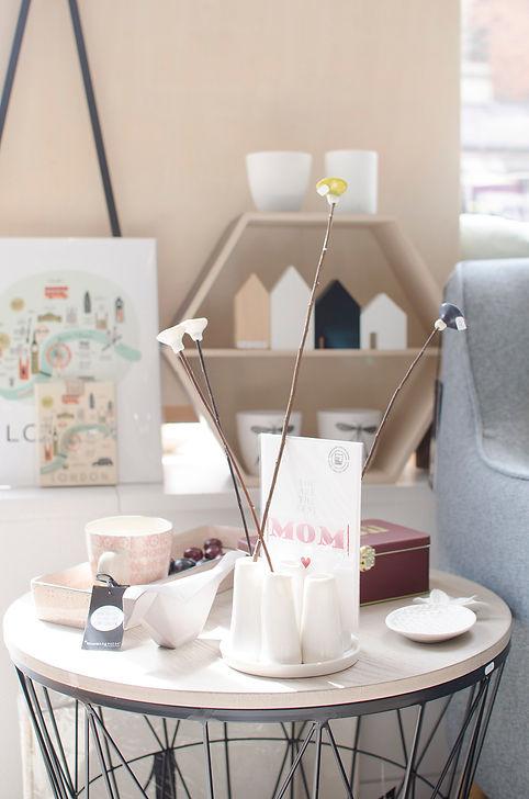© Anne Lemaître photographe / boutique / décoration / design d'objets / Les Fées de Style Reims / ambiance