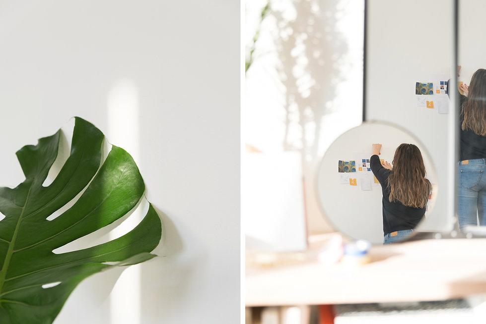 Celine Andrie - Atelier A - Anne Lemaître - Repotage Métier - Atelier Graphiste