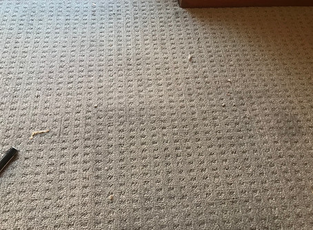 How much does it cost to repair a burn mark in my  carpet