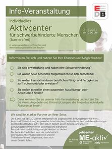 EDB Info_Tag Aktivcenter SB 6_2021 2 Sei