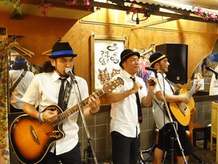 東京 島のわ通信 協力店にて石垣島アーティスト「きいやま商店」のシークレットPRライブが行われました。