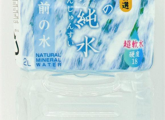 鳥海山の真純水 2L