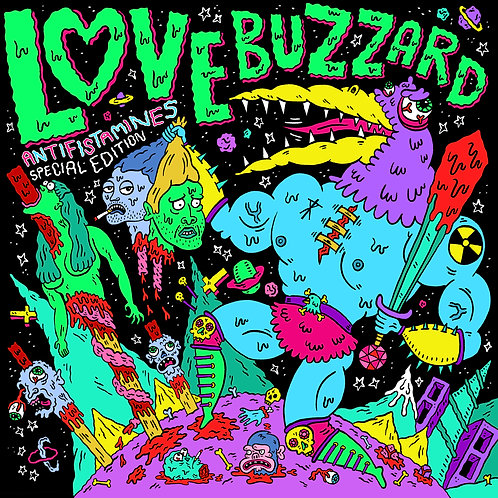 Love Buzzard - Antifistamines - Green Vinyl Album