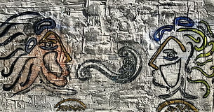 Face2Face - Toile lin - Gypse, pigments naturels - 2021.JPG