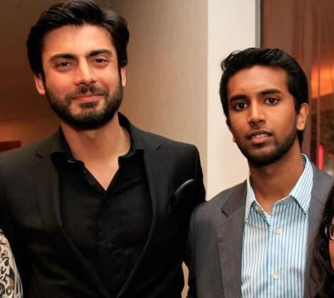 with Fawad Khan