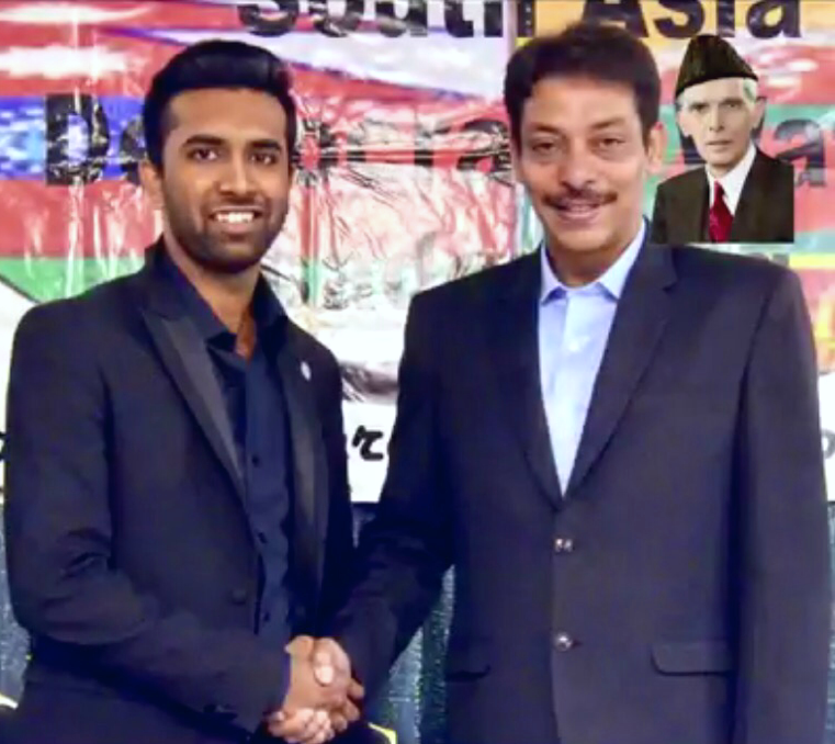 with Senator Faisal Raza Abidi