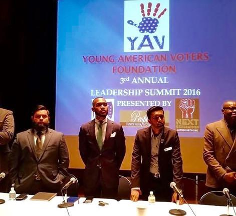 Speaking at the YAV Summit 2016