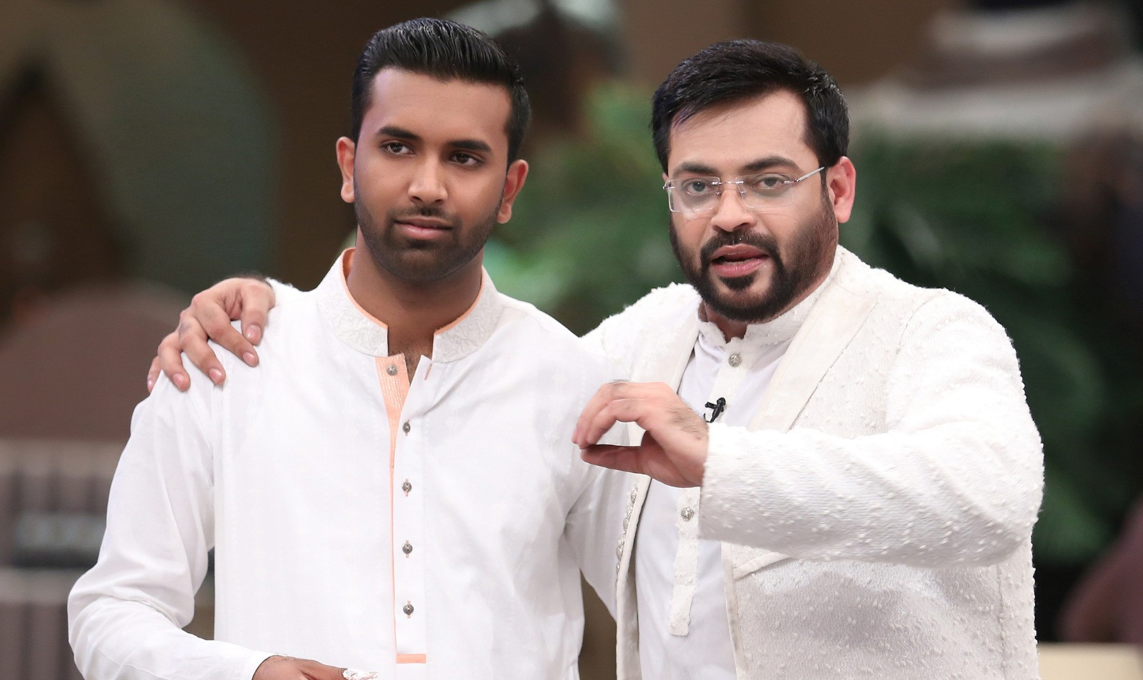 with Dr. Aamir Liaquat Husain