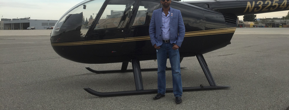 Flying in California