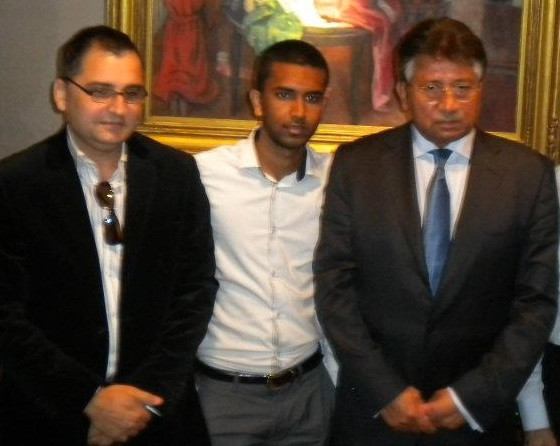 with Ex-President of Pakistan Pervez Musharraf