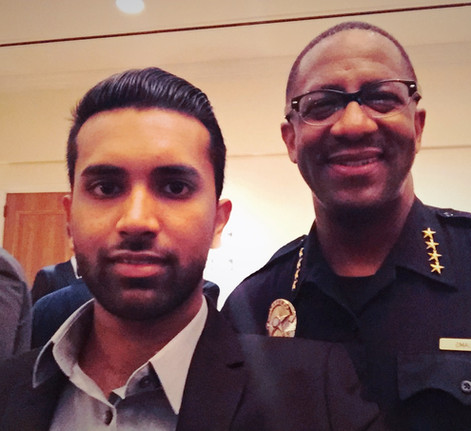 with Constable Roy Williams