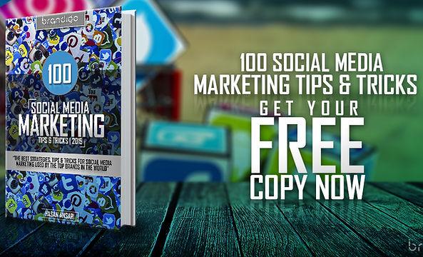 Book - 100 Social Media Marketing Tips &