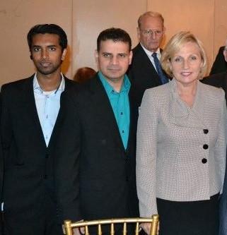 with Lt. Governor Kim Guadagno
