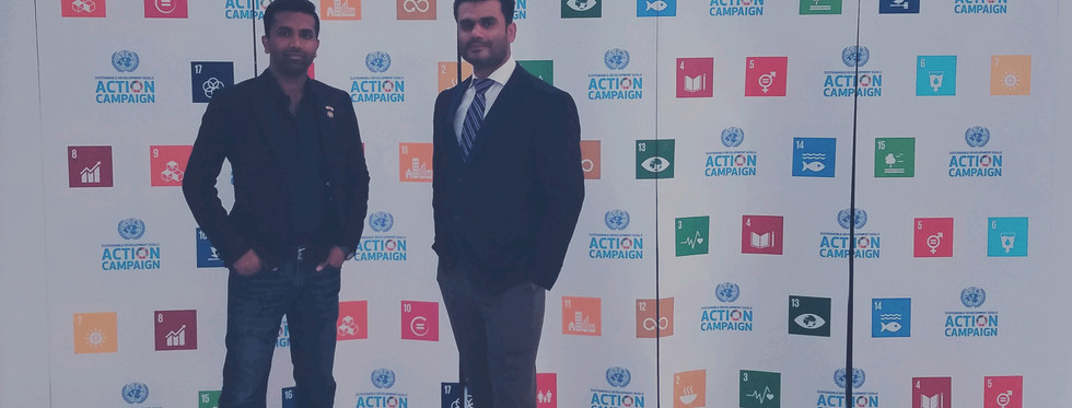 at the UN SGD Summit